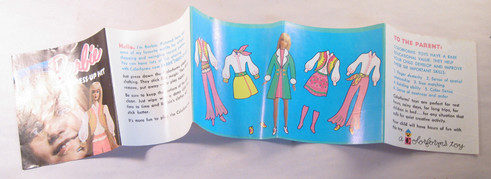 Barbie Colorforms Booklet
