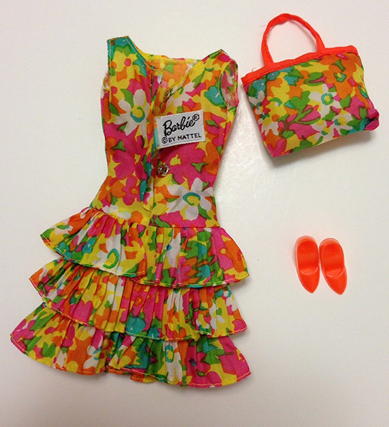 1967 Barbie Bouncy Flouncy #1805