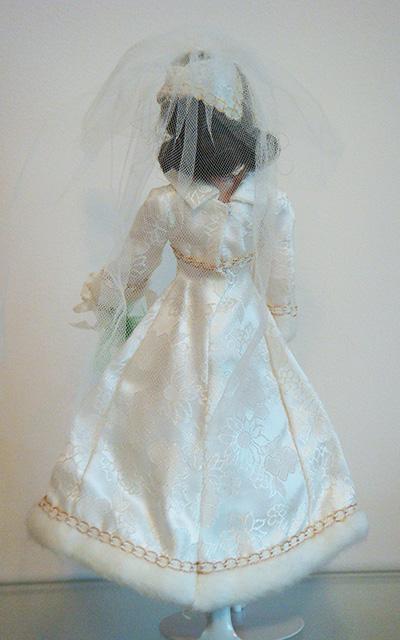 Mod Barbie Bridal Brocade