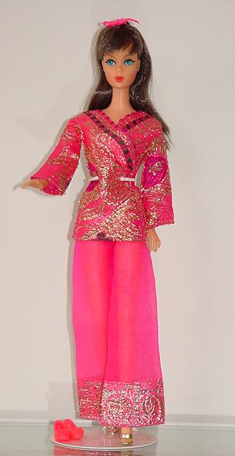 Mod Barbie 1970 Bright 'N Brocade #1786