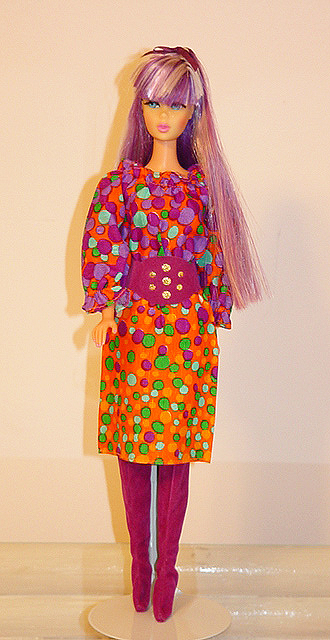 Mod Barbie 1971 Bubbles 'N Boots #3421