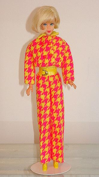 Mod Barbie 1970 Check The Suit #1794