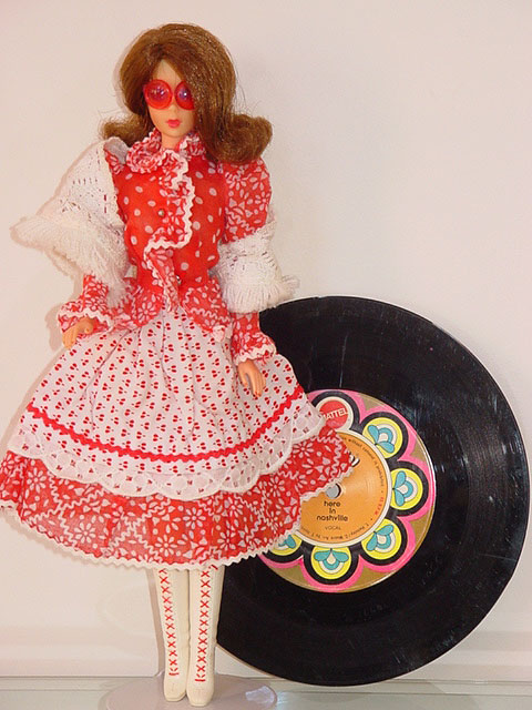 Mod Barbie Country Music #1055