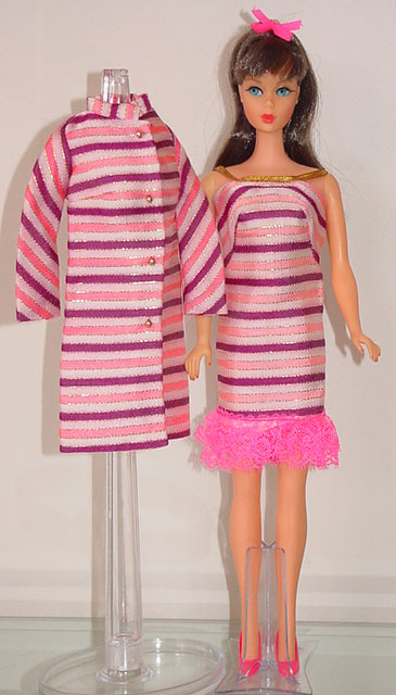 Mod Barbie 1968 Dancing Stripes #1843