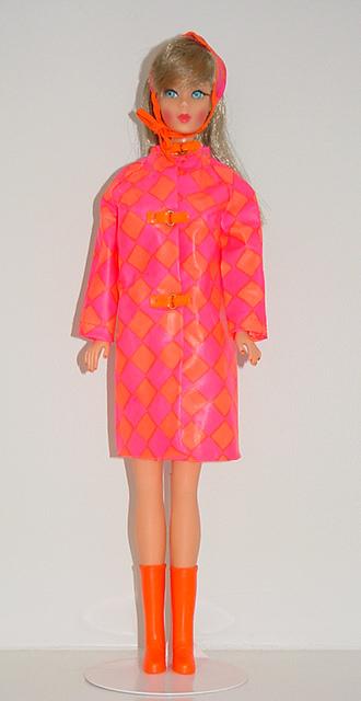 Mod Barbie 1967 Drizzle Dash #1808