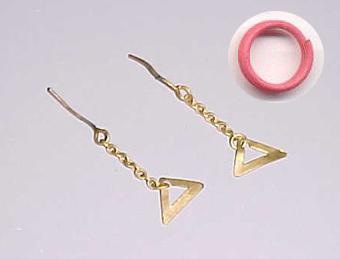 Evening In Earrings and Bracelet
