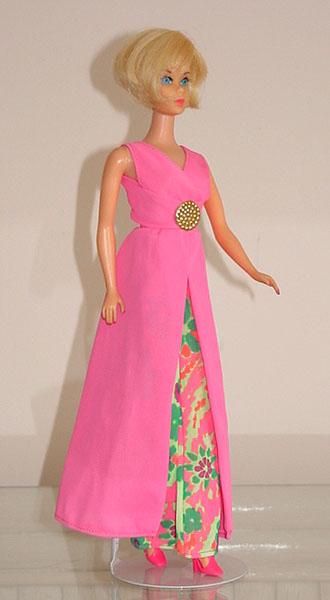 Mod Barbie 1971 Barbie Evening In #3406