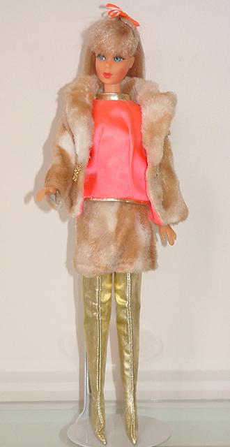 Mod Barbie 1969 Fab Fur #1493