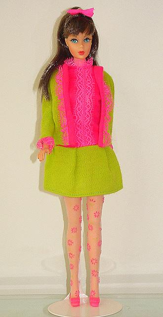 Mod Barbie 1968 Fancy Dancy #1858