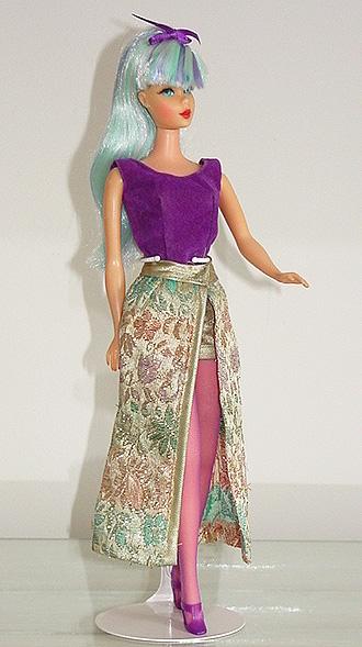 Mod Barbie 1972 Fancy That Purple #3362