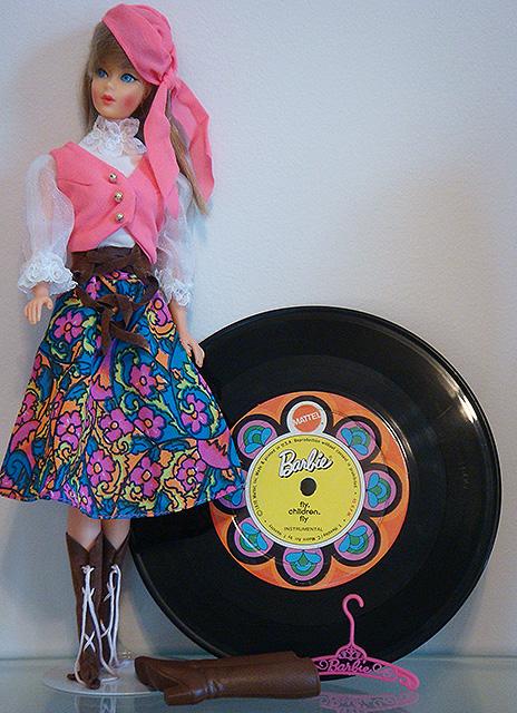 Mod Barbie 1971 Festival Fashion #1056