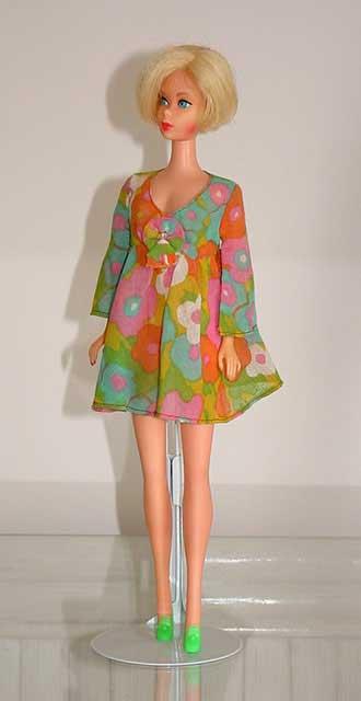 Mod Barbie 1970 Flower Wower #1453