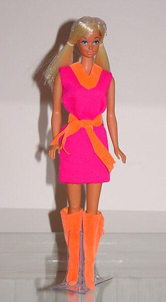 Mod Barbie 1971 Fringe Benefits #3401